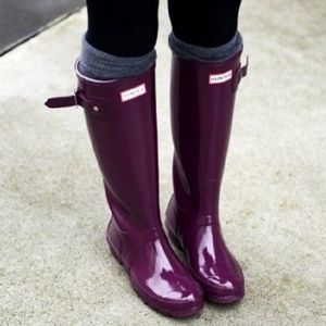ISO Hunter Boots size 8